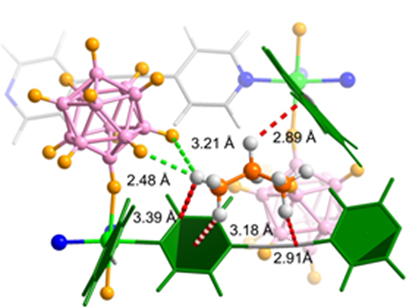 A Microporous Metal�\Organic Framework Supramolecularly Assembled from a CuII Dodecaborate Cluster Complex for Selective Gas Separation